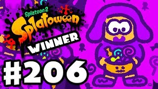 Team Treat Wins Splatoween! - Splatoon 2 - Gameplay Walkthrough Part 206 (Nintendo Switch)