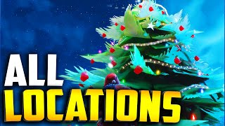ALL CHRISTMAS TREE LOCATIONS in Fortnite Season 7
