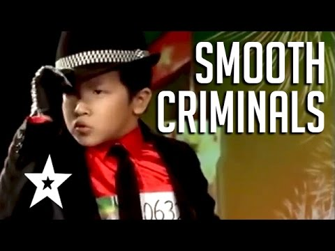 Smooth Criminals! 5 Amazing Michael Jackson Tributes | Got Talent Global