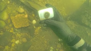 Found Lost Camera Underwater in River While Scuba Diving! (Does it Still Work??) | DALLMYD