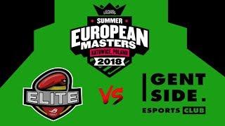 Asus Rog Elite vs Gentside | EUROPE MASTERS!! Best Highlights!