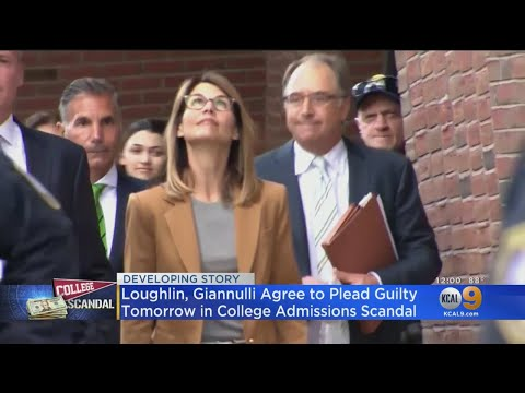 Lori Loughlin, Mossimo Giannulli Pleading Guilty In College Admissions Scandal