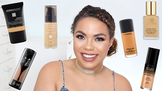 Best Full Coverage Foundations for Oily Skin! | samantha jane