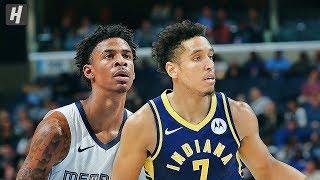 Memphis Grizzlies vs Indiana Pacers - Full Game Highlights | November 25, 2019 | 2019-20 NBA Season