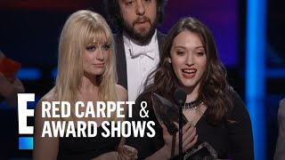 The People's Choice for Favorite New TV Comedy is 2 Broke Girls