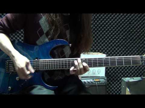 五月天 Mayday - 溫柔【還你自由版】DNA LIVE 中段solo guitar cover by Eric Lo