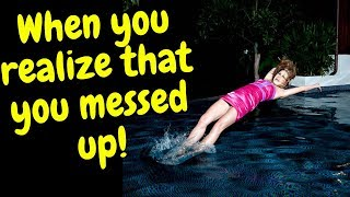 Humans vs pools and water compilation~People Fails~Animals Being Animals series