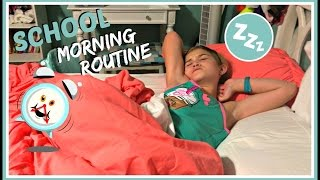SCHOOL MORNING ROUTINE: GET READY WITH MARISSA
