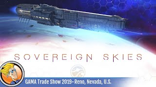 Sovereign Skies — game overview at GAMA Trade Show 2019