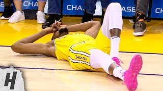 Kevin Durant Ankle Injury - Suns vs Warriors | March 10, 2019 | 2018-19 NBA Season