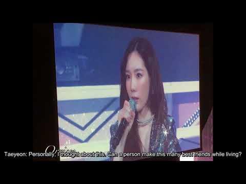 [ENG SUB] SNSD 10th Anniversary Fanmeet - Ending Part