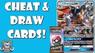 Greninja GX Can Be Played From Your Hand! (Detective Pikachu Pokemon Cards!)