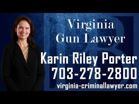 Virginia gun lawyer Karin Riley Porter discusses important information you should know if you have been charged with, or are under investigation for a gun offense in the Commonwealth of Virginia. An experienced Virginia gun lawyer can review the facts and circumstances surrounding the incident in question, and work with you in formulating the strongest possible defense. In addition, it is important to contact a Virginia gun lawyer as soon as possible if you are facing firearms charges.