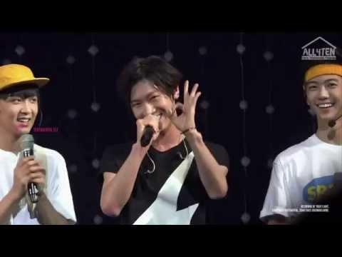 Ten - SMRookies Show cute moment