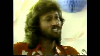 "Rare Video of Bee Gees on Solid Gold, Introduced by Andy Gibb ""Living Eyes"""