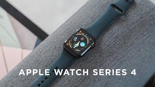 Apple Watch Series 4 - 40mm Stainless Steel Space Black & 44mm Aluminium Space Gray