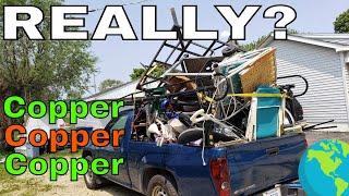 MORE Copper in the Trash | Record Breaking Scrap Day!