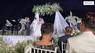 Dàn nghệ sĩ gửi gắm lời chúc đầy xúc động trong đám cưới của Đông Nhi & Ông Cao Thắng ở Phú Quốc.