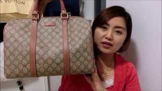 Review : Gucci Joy GG Canvas Stars Boston Bag