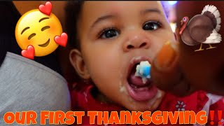 TWINS FIRST THANKSGIVING‼️🦃