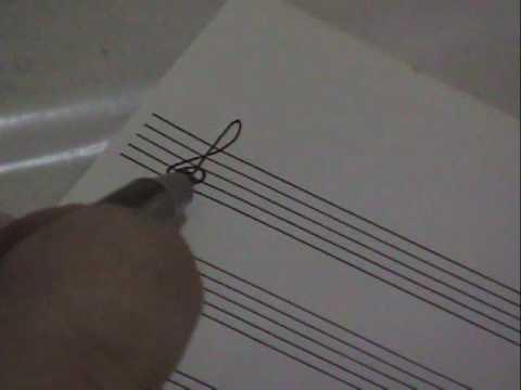 Piano para Iniciantes - Pentagrama, Clave de Sol e notas