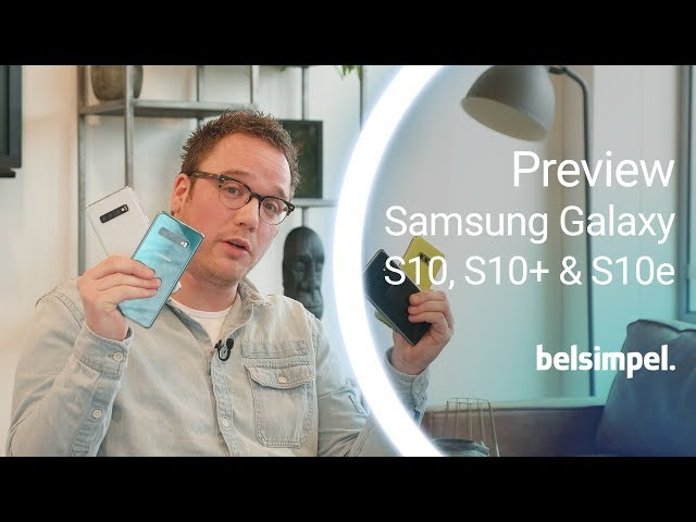 Belsimpel-productvideo voor de Samsung Galaxy S10+ 128GB G975 Black