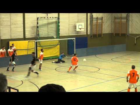 Hamburg Panthers - FC Bergedorf 85 (Halbfinale, EasyFitness-Cup 2015) - Spielszenen | ELBKICK.TV