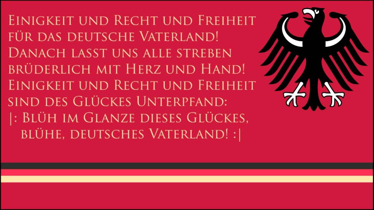 Deutschland Nationalhymne