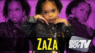 "ZaZa Performs Her Song ""What I Do?"", Being on Ellen DeGeneres & Wanting To Meet Cardi B"