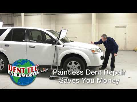 video Paintless Hail Repair