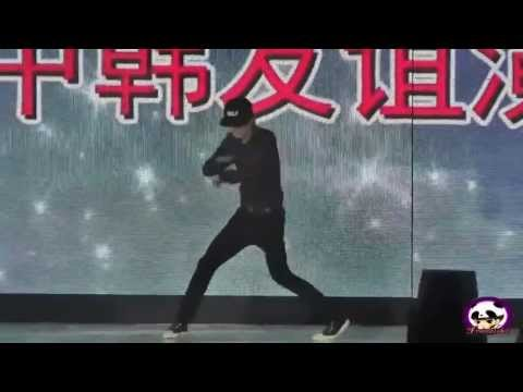 130628 Kai dancing to Baby Don't Cry (chinese ver fancam)
