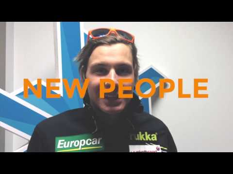 New year : wishes from nordic combined and ski jumping team Finland
