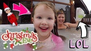 CHRISTMAS EVE SPECIAL - HOT TUB PARTY + FAMILY TRADITIONS! VLOGMAS DAY 25!