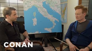 Conan & Jordan Schlansky Plan Their Trip To Italy  - CONAN on TBS