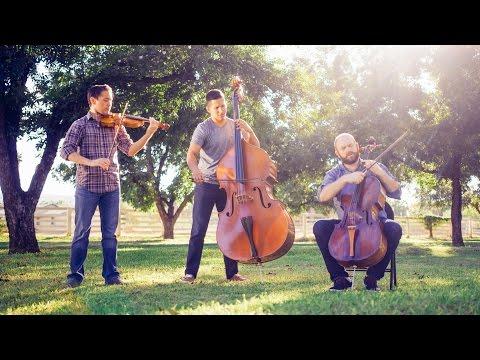 Photograph - Ed Sheeran (cello/bass/violin cover by Simply Three) - in 4K