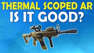 THERMAL SCOPED AR IS IT GOOD? | HIGH KILL FUNNY TROLL GAME - (Fortnite Battle Royale)