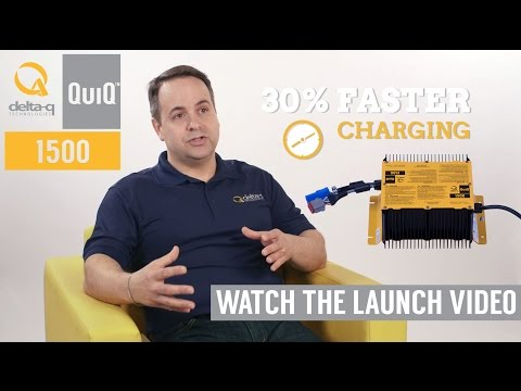 Introducing the QuiQ 1500 Industrial Battery Charger