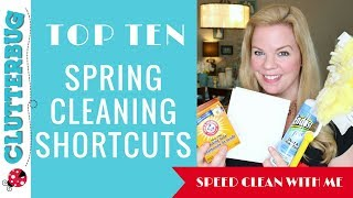 10 Spring Cleaning Tips & Shortcuts