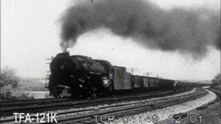 Steam Locomotives In Action on the Pennsylvania, 1954