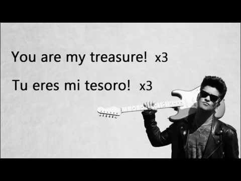 Baixar Bruno Mars-Treasure lyrics ingles-español