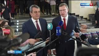 В Омск с рабочим визитом прибыл Сергей Меняйло