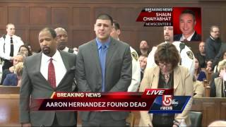 Reporter talks about Aaron Hernandez's demeanor before NFL star's suicide