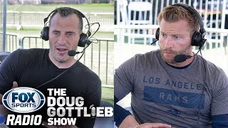 LA Rams Coach Sean McVay on Todd Gurley's Health, Eric Weddle, Clay Matthews and more!