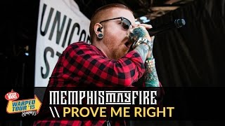 Memphis May Fire - Prove Me Right (Live 2015 Vans Warped Tour)