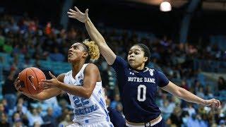 UNC Women's Basketball: Tar Heels Topple No. 1 Notre Dame, 78-73