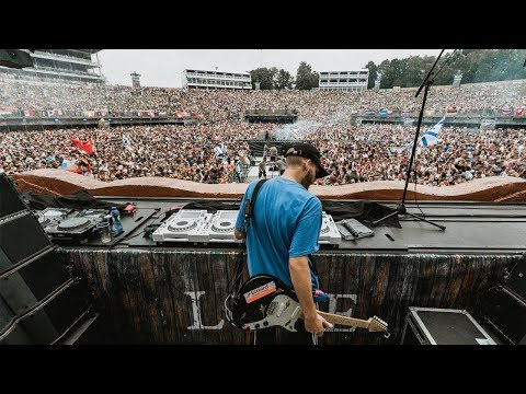 San Holo at Tomorrowland Mainstage 2018