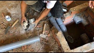 Chi tiết con thỏ chống hôi của hố ga | Chống hôi phiễu thu sàn, vệ sinh - Kho Tư liệu Xây dựng