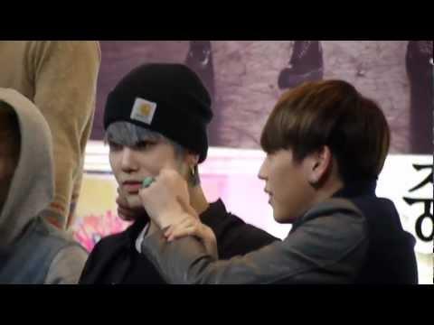 130330 BAP Daejeon fansign - Himchan & Zelo