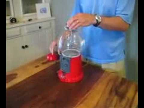 How to replace the globe on your gumball machine