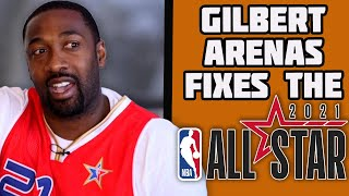 """Gilbert Arenas Fixes The """"Broken"""" NBA All-Star Voting Process 